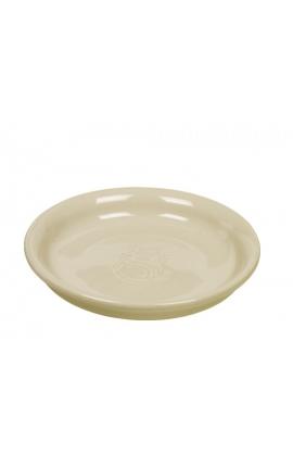 Nobby Ceramic Cat Milk Dish Light Beige