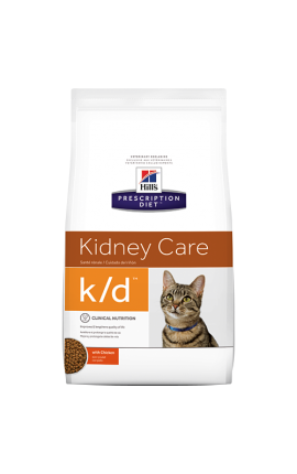 Prescription Diet™ k/d™ Feline with Chicken 1,5kg