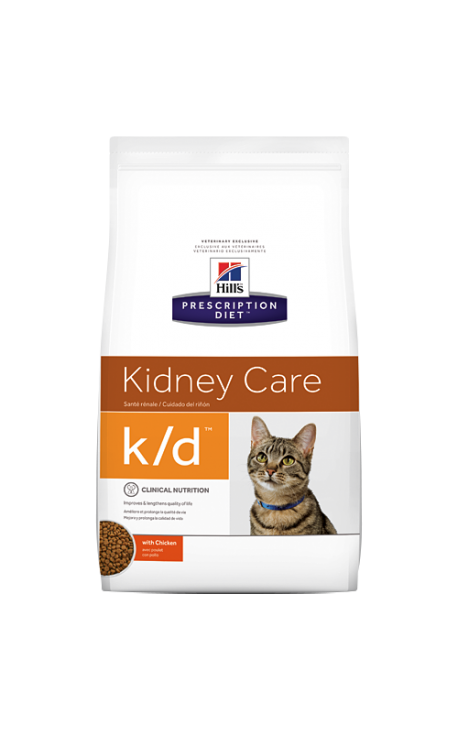 Prescription Diet™ k/d™ Feline with Chicken 1,5kg
