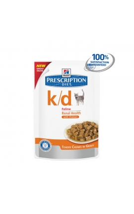 Hill's Prescription Diet™ k/d™ Feline με Κοτόπουλο 85gr
