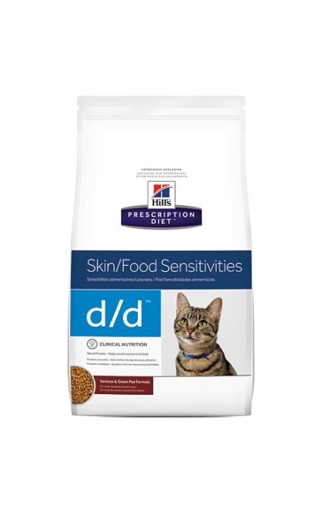 Hill's Prescription Diet™ Feline d/d™ Venison & Green Pea 1,5kg