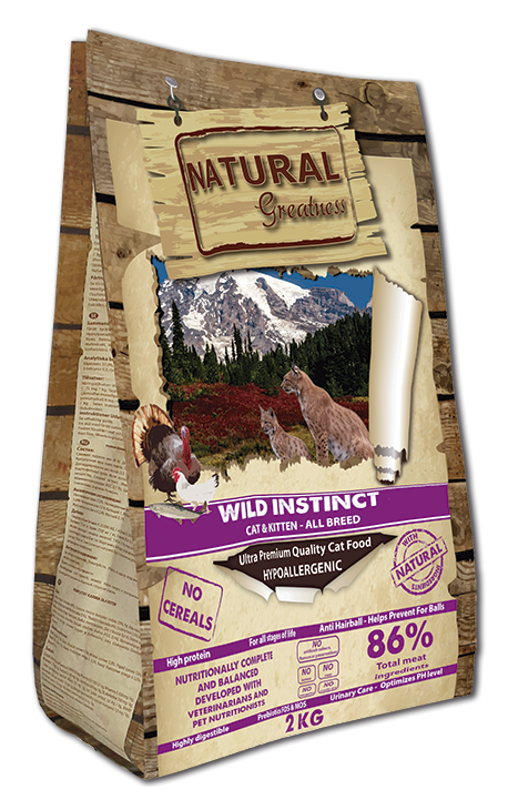 Natural Greatness Wild Instict Cat & Kitten – All Breed