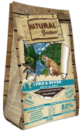 Natural Greatness Field & River Recipe 600g
