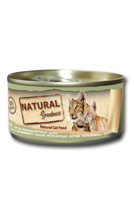 Natural Greatness Chicken Breast - Cat & Kitten 70g