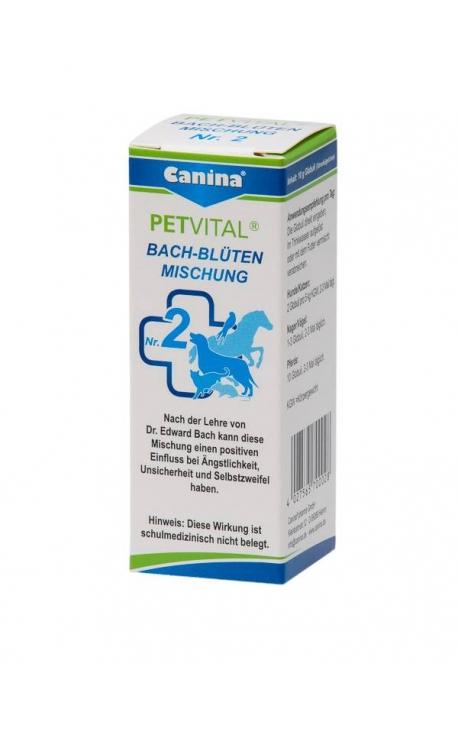 ΙΑΜΑ Νο2 - Canina Petvital Ανθοθεραπεία Bach (Φόβος-Αγχος) 10gr
