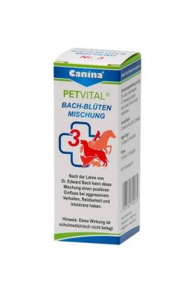 ΙΑΜΑ Νο3 - Canina Petvital Ανθοθεραπεία Bach (Επιθετικότητα) 10gr
