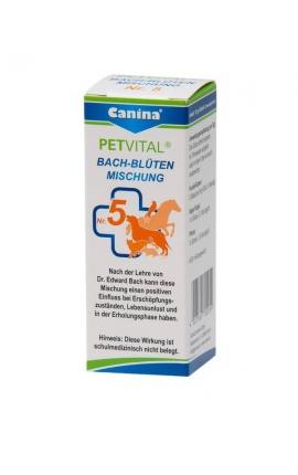 ΙΑΜΑ Νο5 - Canina Petvital Ανθοθεραπεία Bach (Εξάντληση-Ανάρρωση) 10gr
