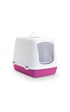 Savic Cat Toilet 'Oscar' Fuchsia
