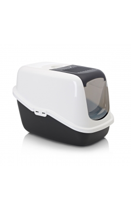 Savic Cat Toilet 'Nestor' Black