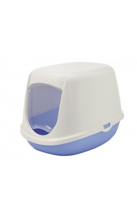 Savic Cat Toilet 'Duchesse' Lightblue/White