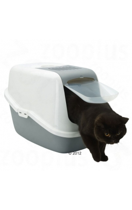 Savic Cat Toilet 'Nestor' Grey