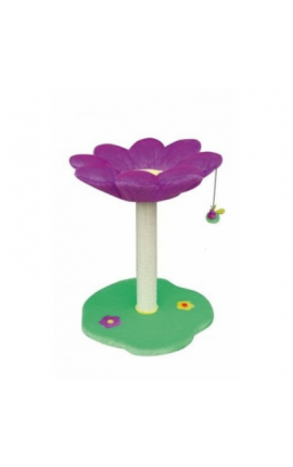 Flower Cat Scraper Purple