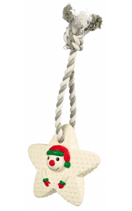 Trixie Stars on a Rope Snowman
