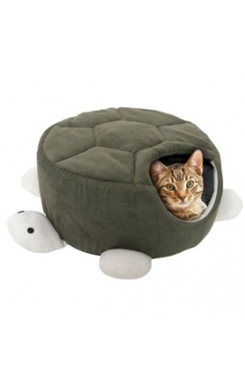 Karlie Turtle Sleeping Hole Green