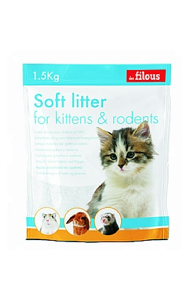 Les Filous Silica Kitten & Rodents 1.5kg