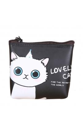 Pet Lovers Cute Cat Fashion Coin Purse Silicon