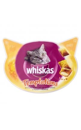 Whiskas Τemptations Chicken & Cheese
