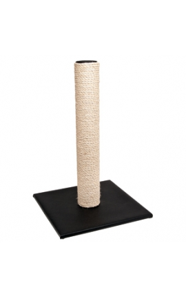 Cat Scratch Pole Black