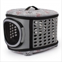 Pet Foldable Handbag Carrier Grey