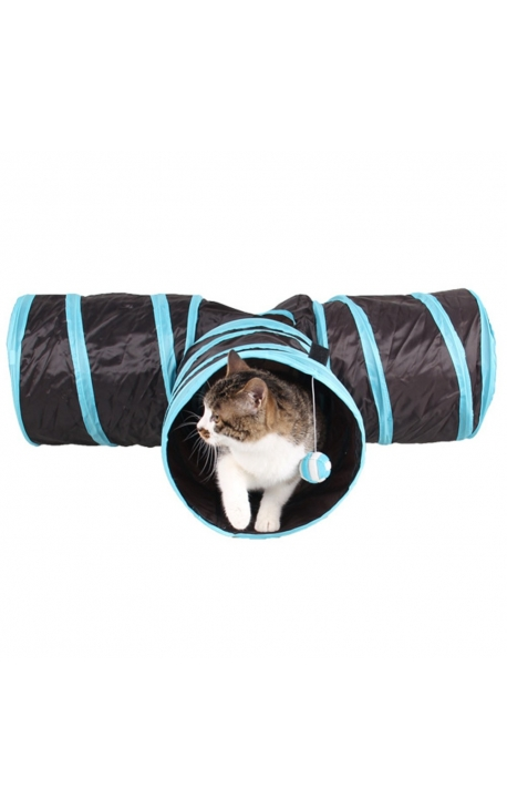 Cat Foldable 3 Holes Tunnel