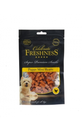 Celebrate Freshness Puppy Mini Hearts 100gr