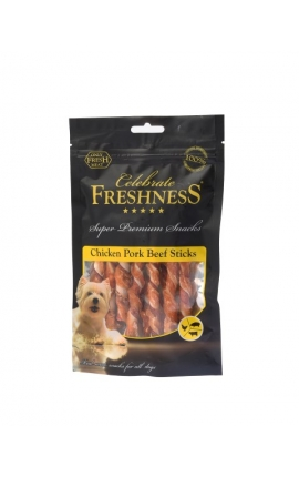 Celebrate Freshness Chicken Pork Beef Sticks 70gr  (10pcs)