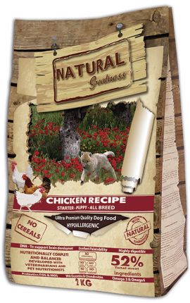 Natural Greatness Chicken Recipe - Puppy