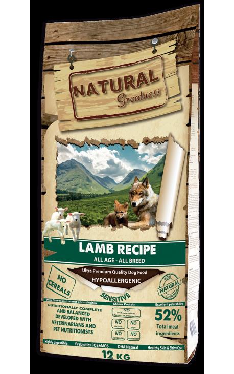 Natural Greatness Lamb Recipe