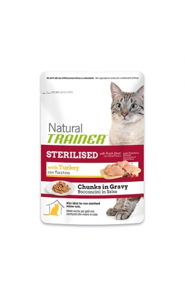 Trainer Natural Pouches Sterilized - Turkey 85 gr