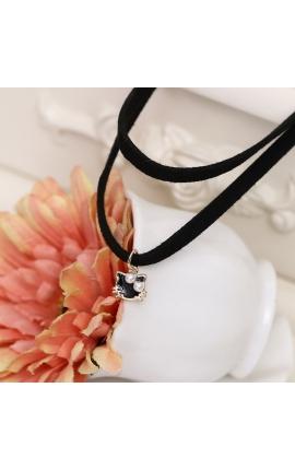 Cat Lovers Cute Mini Pendant Short Necklace