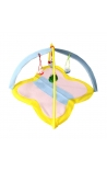 Cat Soft Fleece Breathable Tent Yellow