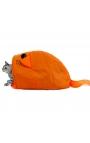 Cat Cute Design Tunnel Orange Color Tent