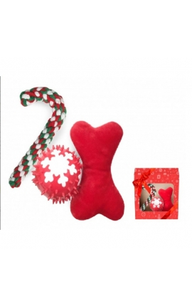 Croci Christmas Dog Gift Box
