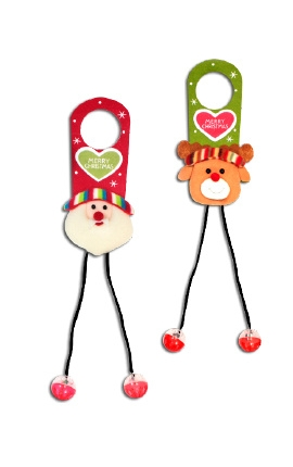 Croci Christmas Plush for Door Handles