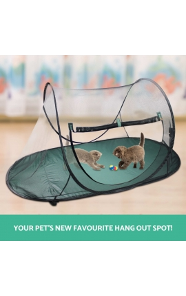 Cat Playpen Foldable Tent - Fence
