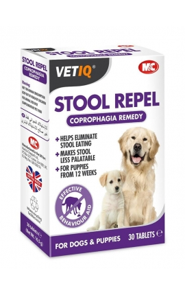 VetIQ Stool Repel κατά της κοπροφαγίας