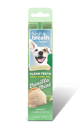 Tropiclean Clean Teeth Gel Vanilla Mint