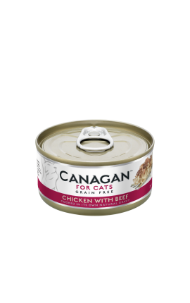 Canagan Cat Wet Chicken with Beef