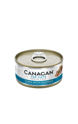 Canagan Cat Wet Tuna and Mussels