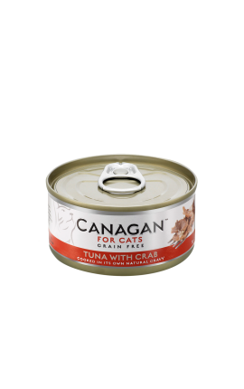 Canagan Cat Wet Tuna and Crab