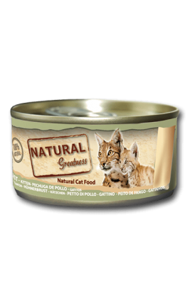 Natural Greatness Chicken Breast - Cat & Kitten 70g