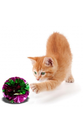 Happy Pet Crinkle Ball