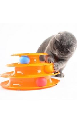 Cat Διαδραστικός Πύργος (Πορτοκαλί)