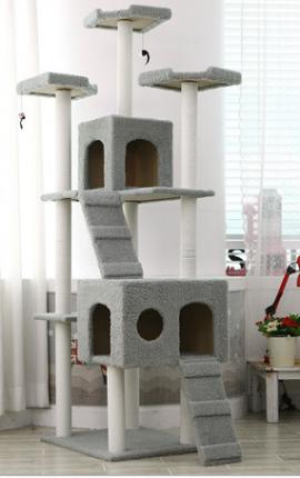 Ονυχοδρόμιο Γάτας 182 cm Ύψος