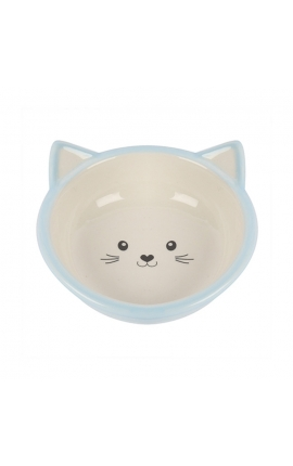 Happy Pet Kitten Bowl Blue