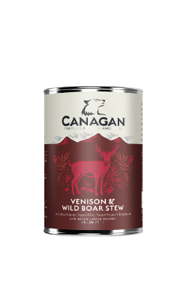 Canagan Venison & Wild Boar Stew for Adult Dogs 400gr