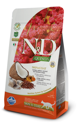 N&D Quinoa Skin and Coat Herring 1,5 kg