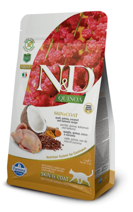 N&D Quinoa Skin and Coat Quail 1,5 kg
