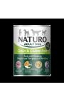 Naturo Dog, Grain Free Duck, Blueberries, Pumpkin, Herbs, 390gr Can