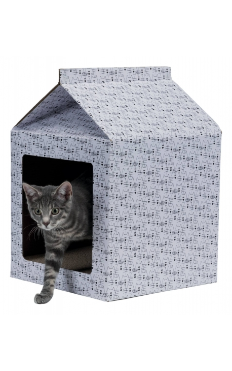 Trixie Scratching House